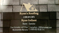 Roofing Installation by Ryan's Roofing