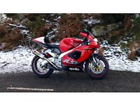 2002 RSV1000 swaps for R1 or GSXR 1000