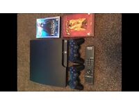 PS3 PLAYSTATION 3 CONSOLE 19 GAMES 2 PADS PS4