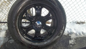 AFTER MARKET RIMS AND TIRES  6 BOLT