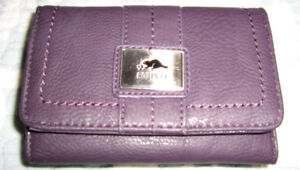 Ladies Leather Trifold Wallet