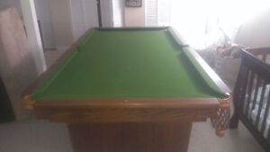 DEMENAGEMENT DE TABLE DE BILLIARD 514-566-6196