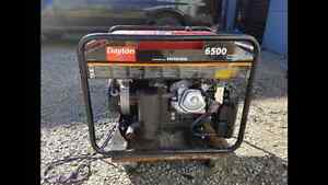 Generator: Honda /Dayton 6500 watt North Shore Greater Vancouver Area image 2