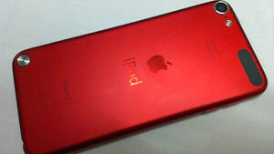 Red 5th Generation ipod