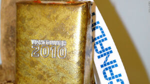 2010 VANCOUVER OLYMPIC 4 inch COWBELL