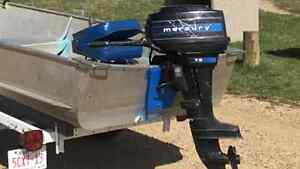 7.5 Mercury outboard or trade for gas ice auger