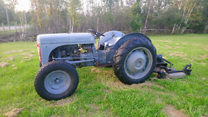 "Tractor with 54"" Grass cutter"