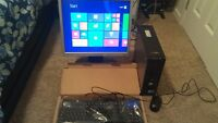 Great Small DELL  745 DualCore Win8,Office13,19LCD,CD/DVD!!!!!!!