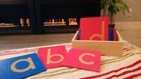 Nouveau program de Montessori anglais acceptant des étudiants