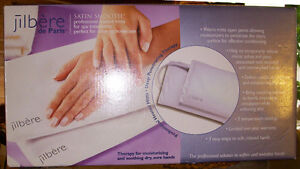 JILBERE de PARIS pro heated mitts for spa treatments