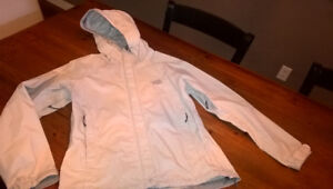 The North Face Rain Jacket White Off for Women