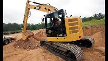 EXCAVATOR HIRE DIY 14 TONNERS CAT HITATCHI KOMATSU Sydney City Inner Sydney Preview