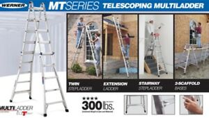 Werner 22' Combo ladder