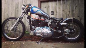 Harley ironhead custom