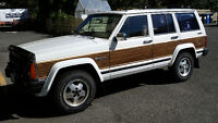 1990 Jeep Wagoneer Limited Woody SUV