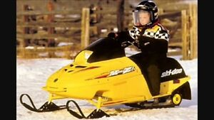 Looking for mini 120cc snowmobile