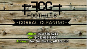 Corral Cleaning Service