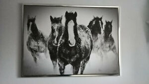 Beautiful Horse Picture for the wall  from BouClair