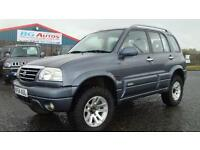 54 SUZUKI GRAND VITARA 2.5 V6 X-EC 4X4 5DR METALLIC GREY