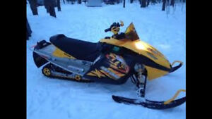 Parting out 2009 mxz 550x rev sled also others revs ski-doos
