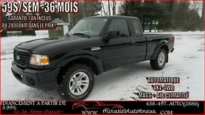 Ford Ranger 4x4-4WD AUTO SuperCab sport/xlt/fx4 2008