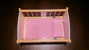 Doll cradle (rocking)