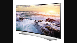 65 inch curved 4K tv