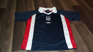 Official England soccer jersey for child