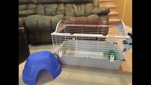 Living world cage for small pets