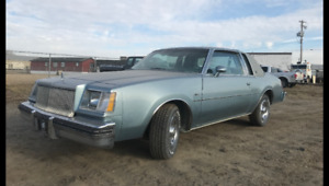 1978 Buick Regal 2 Door coupe like new. 90,000km $5000