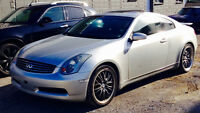 *WOW* INFINITI G35 COUPE MANUELLE 6 VITESSES, BREMBO PACKAGE *