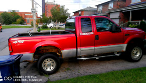 2001 Ford F250 4x4 XLT package
