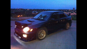 2002 SUBARU WRX MODIFIED