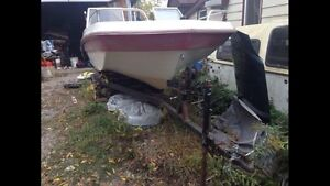 Thunder Craft boat with trailer
