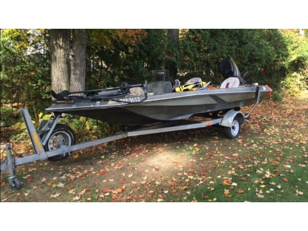 Sylvan ind fishing boat for sale canada for Bass pro fishing sale