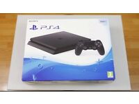 PS 4 PlayStation 4 slim line 500 GB BRAND NEW UNOPENED SEAL £215