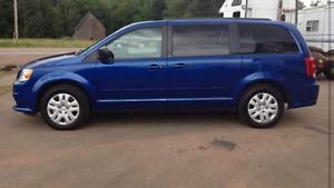 2013 Dodge Grand Caravan Stow N Go Minivan, Van