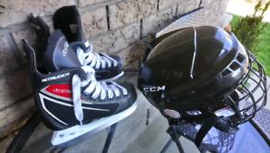 CCM Skates and Hamlet size 12J