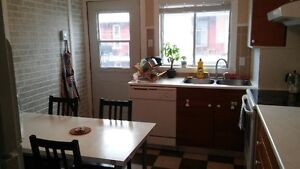 Saint-Henri, 2 closed bedrooms, living room, sit-in kitchen