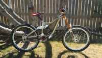 Stolen Downhill Mountain Bike, Kona Operator