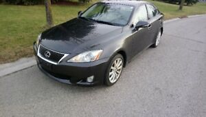 2010 Lexus IS250 Sedan, AWD,NAVI,LTHR,SUROOF, Snow tires