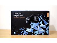 Brand New LENOVO EXPLORER unopened Mixed Reality Headset and Motion Controllers