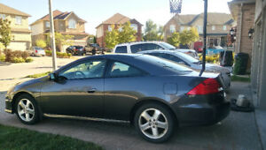 RARE 2007 HONDA ACCORD COUPE V6 - 6SPEED