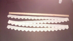 Italian vintage unused lace trim - bedroom linen set  BONUS - 21