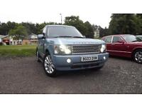 Land Rover Range Rover Dual Fuel Gas Conversion 4.4 V8 auto 2003MY HSE Glasgow