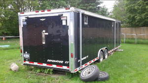 28 foot race car trailer.