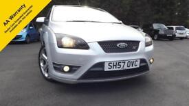 Ford Focus 2.5 Turbo S.T. 73k. Mls Full History 8 Stamps Glasgow Scotland