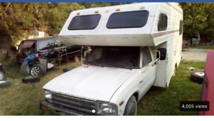 1982 Toyota motorhome  project