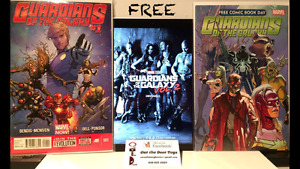 FREE Guardians of the Galaxy Vol 2 Comic Books