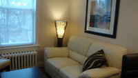 Attention Profesionals South End Furnished 1 Bdrm + Den Aug 1